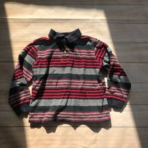 🍭6/$30 Tommy Hilfiger long sleeve polo  / 4T